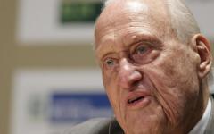 Calcio: è morto Joao Havelange, ex presidente Fifa (Federazione internazionale di calcio). Aveva compiuto 100 anni