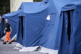 Tendopoli: per gli sfollati, dopo la paura il freddo