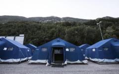 Terremoto: in funzione i tre campi della Regione Toscana. Attenzione: non servono altri volontari