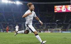 L'Italia rimonta e vince in Macedonia (2-3) con doppietta di Immobile. Clamoroso errore di Verratti. Bernardeschi: compito ingrato. Pagelle....