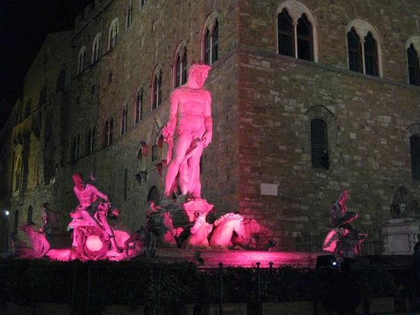 Il Biancone diventa rosa per la campagna LILT