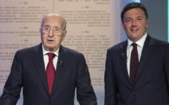 Referendum: dibattito tv, il vecchio de Mita (No) supera il giovane Renzi (Si)