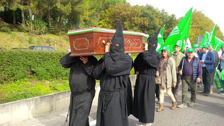 Agricoltura: funerale del grano