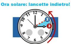 Ora solare: torna fra sabato 29 e domenica 30 ottobre e dormiremo un'ora in più