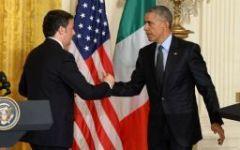 Italia-Usa: Renzi va a cena da Obama alla Casa Bianca (e si porta Roberto Benigni e la sindaca di Lampedusa)