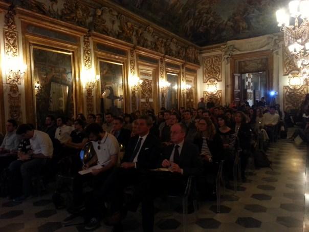 Un convegno nella Sala Gonfalone di Palazzo Panciatichi