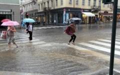 Maltempo: intensi temporali a Grado (Gorizia) e Trieste