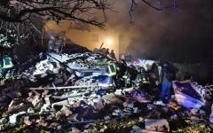 Bagno a Ripoli: abitazione crollata, causa esplosione, in via Villamagna. 3 feriti, una donna dispersa (foto)