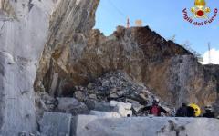 Carrara: operaio muore nelle cave, travolto dal materiale staccato dalla parete. E' l'ennesima vittima