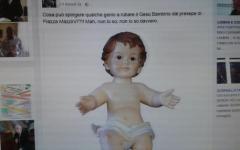 Viareggio: rubato Gesù Bambino dal presepe di piazza Mazzini. Lo stupore del sindaco