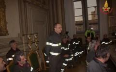 Firenze: il prefetto Giuffrida ringrazia i vigili del fuoco eroi di Rigopiano