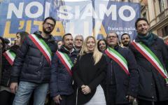Elezioni: Salvini (Lega) e Meloni (FdI) spingono la destra al voto per un'Italia Sovrana