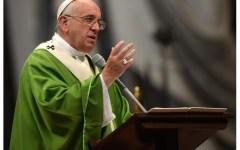 Papa Francesco: inventa nostalgioso una nuova parola italiana. Chissà se l'Accademia della Crusca approverà