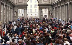 Uffizi: nel 2016 per la prima volta oltre 2 milioni di visitatori. Raggiunto uno storico record
