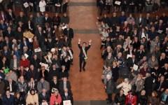 Firenze, San Valentino: Nardella ha incontrato le 1152 coppie sposate da 50 anni