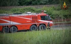 Ponsacco (Pi): sversamento di oleodotto, intervento dei vigili del fuoco
