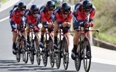 Ciclismo, Tirreno-Adriatico: cronometro a squadre, la Bmc vola a oltre 58 km di media