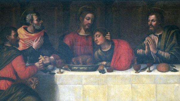 Plautilla Nelli, Ultima Cena, particolare