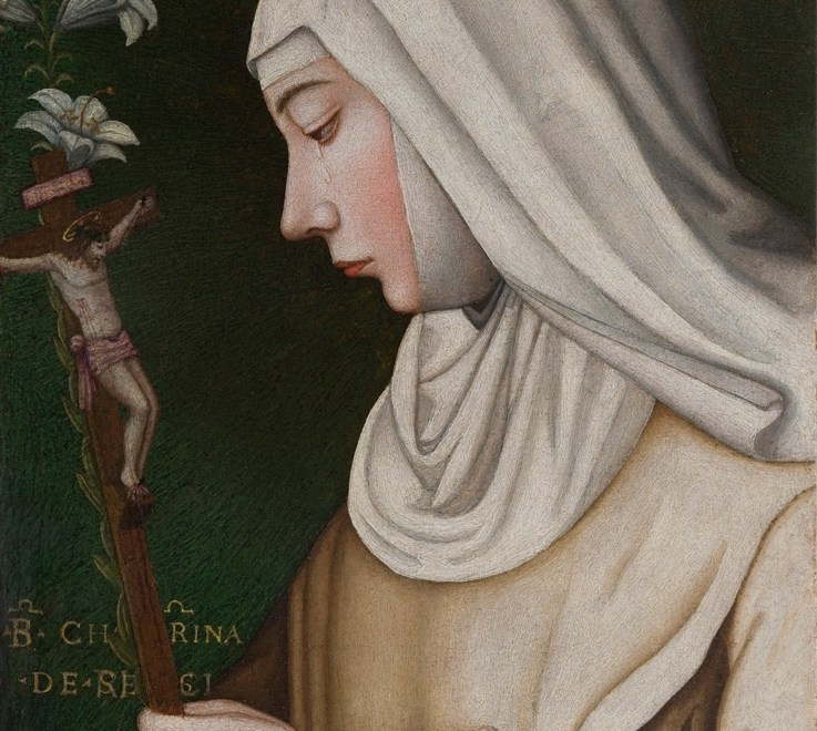 Plautilla Nelli e bottega Santa Caterina da Siena/de' Ricci olio su tavola Firenze, Museo del Cenacolo di Andrea del Sarto