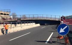 Camerano (An): crolla un ponte sulla A14, morti due coniugi, feriti due operai
