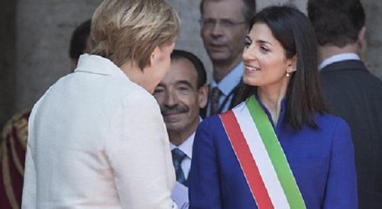 La diretta interrotta del discorso di Virginia Raggi sui Trattati di Roma