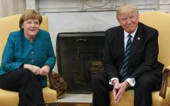 Washington: Trump - Merkel, incontro all'insegna di freddezza e incomprensioni
