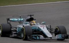 Formula1 Gran premio di Cina: vince la Mercedes di Hamilton. La Ferrari di Vettel al secondo posto