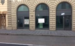 Firenze: cartello nel palazzo del Consiglio regionale, no al mangificio