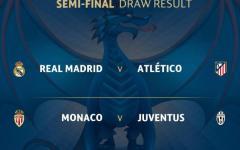 Calcio: Champions league, Juve fortunata pesca il Monaco in semifinale