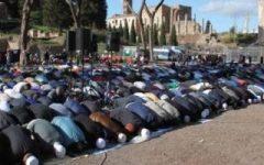 Roma: sequestrato edificio culturale islamico. Un cartello riportava la frase più usata dai jihadisti