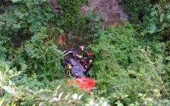 Arezzo: nella scarpata in auto ferito tutta la notte. Trovato stamani, 5 maggio, dai pompieri