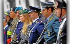 Pubblica amministrazione: riordino delle forze di polizia, Forze armate e vigili del fuoco