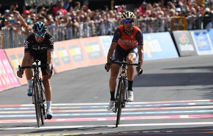 Giro d'Italia, Vincenzo Nibali non si arrende