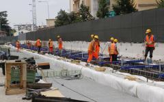 Tramvia Firenze: sopralluogo ministro Delrio con Nardella a cantiere sotterraneo