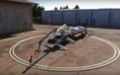 Milano: presentato Sam, il robot muratore che costruisce case. Lavora tre volte più in fretta dell'uomo (video)