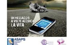Sicurezza stradale: rischi dell'uso del cellulare alla guida, nuova campagna d'informazione dell'Asaps