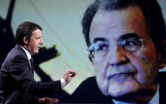 Pd: Renzi attacca la sinistra e Prodi. Reagisce il professore, e con lui anche Veltroni, Franceschini e Orlando