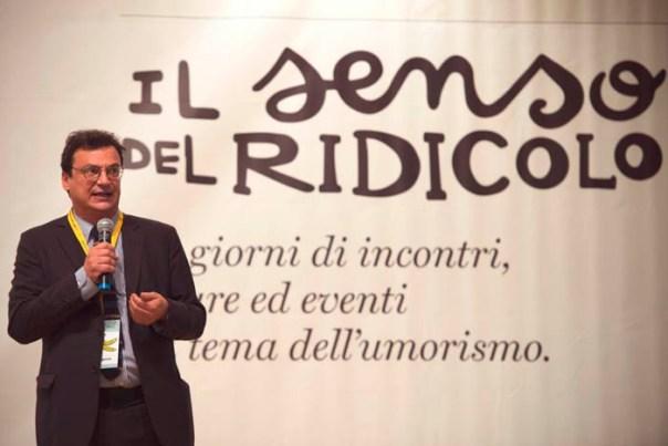 Stefano Bartezzaghi, direttore artistico del Festival Il senso del ridicolo di Livorno