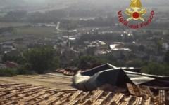 Bibbiena (Ar): tromba d'aria, tetti scoperchiati, piante sradicate, paura fra gli abitanti