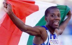 Firenze: Fiona May critica l'atletica italiana, si dovrebbero vergognare