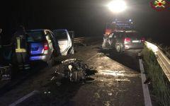Civitella paganico (Gr): donna 60enne muore nello scontro fra tre auto
