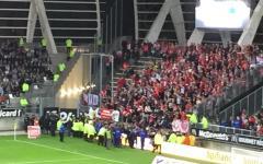 Amiens: crolla balaustra allo stadio, quattro feriti gravi, partita sospesa