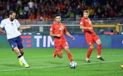 Italia pari (fra i fischi) con la Macedonia: 1-1. E' seconda, ma la certezza dei play off non c'è. Classifica