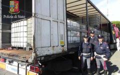 Lucignano (Ar): camionista polacco arrestato dalla Polstrada. Trasportava 24mila litri di gasolio di contrabbando