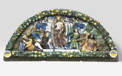 Firenze: da New York torna la Lunetta Antinori di Giovanni Della Robbia, restaurata