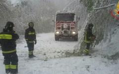 Neve in Toscana: migliaia di famiglie, nella notte, senza energia elettrica