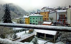 Abetone(Pt): arrivata la prima neve, la coltre ha raggiunto i 20 cm