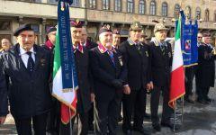 Firenze: le cerimonie del 4 novembre in Piazza Santa Croce