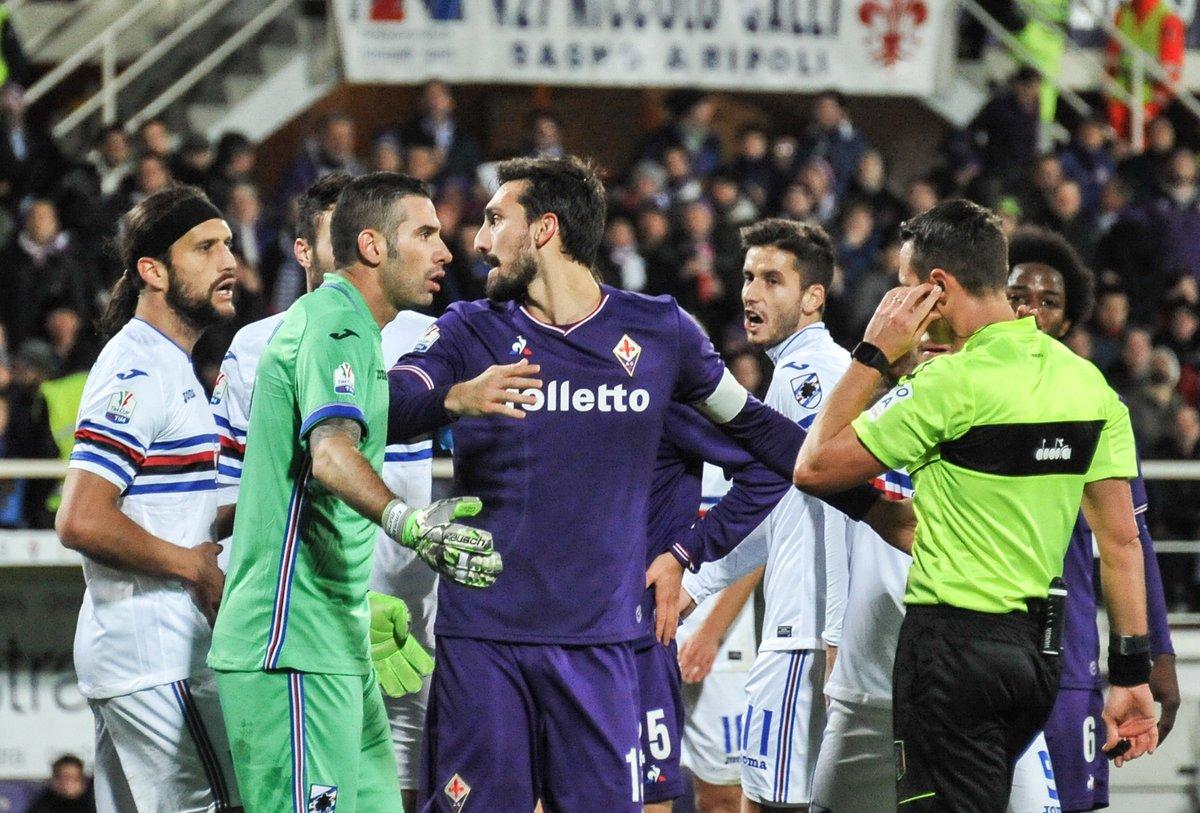 Coppa Italia, ottavi: Fiorentina di rigore sulla Samp; Milan, tris