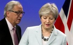 Brexit, accordo fra Juncker e May: «Diritti garantiti ai cittadini Ue». Costo per Londra: 40 miliardi